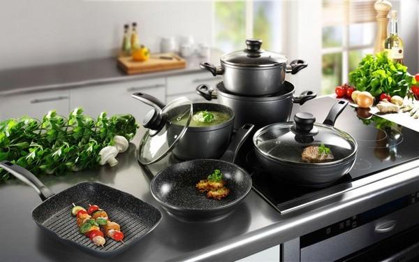 Набор посуды для стеклокерамических плит