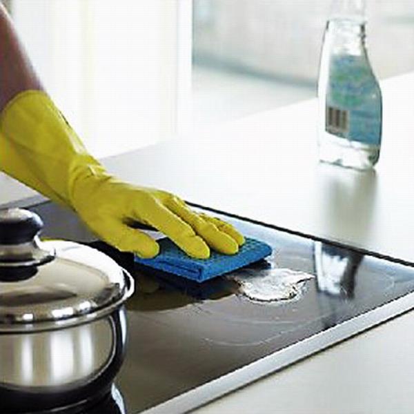 чем чистить стеклокерамическую плиту