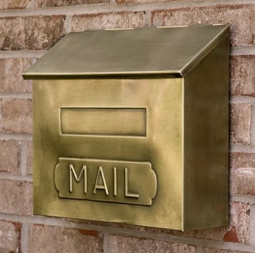 ящик почтовый металлический уличный