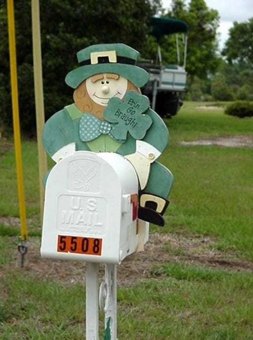Оригинальные почтовые ящики уличные фото