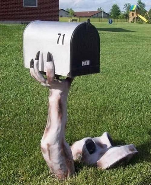 Оригинальные почтовые ящики для дома фото