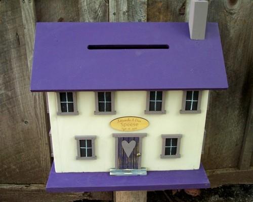 Почтовый ящик домик фото
