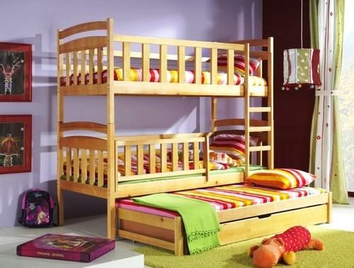 двухъярусные детские кровати с бортиками