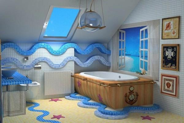 Оформление ванной комнаты по фен-шуй
