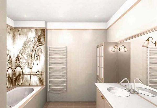 ванная по фен шуй цвета отделки