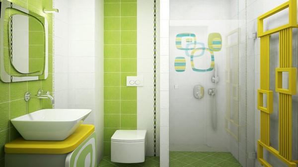 ванная комната по фен шуй цвет