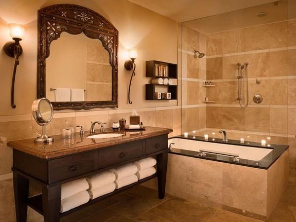 Стиль интерьера ванной комнаты по фен шуй
