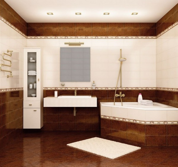 Дизайн ванной комнаты по фен шуй