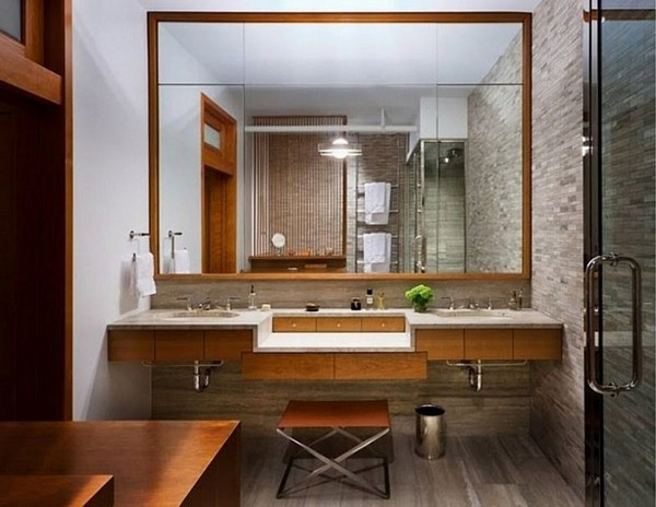 зеркало в ванной по фен шуй