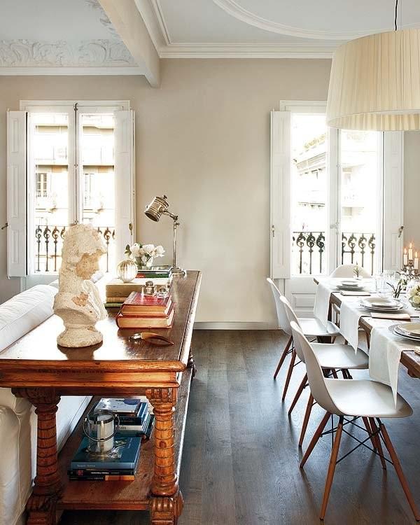 Интерьер столовой в испанском стиле фото