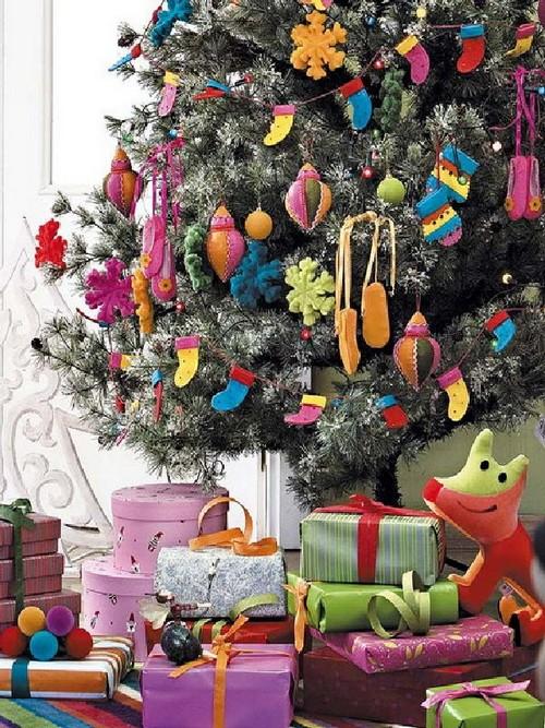 Украшение елки по фен-шуй для ополнения в семействе