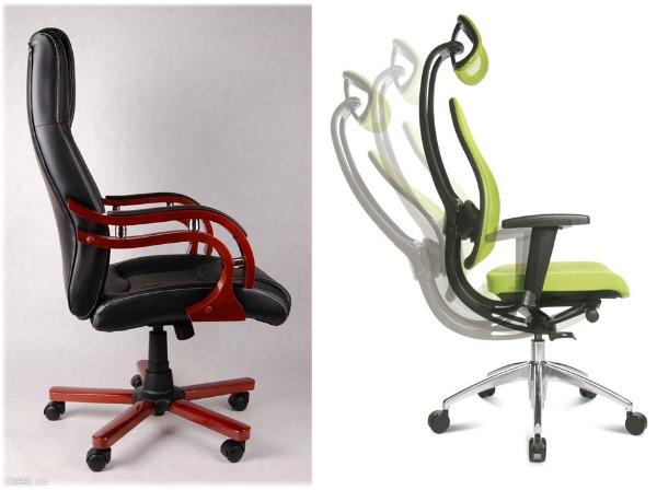 Офисные кресла с регулируемой спинкой