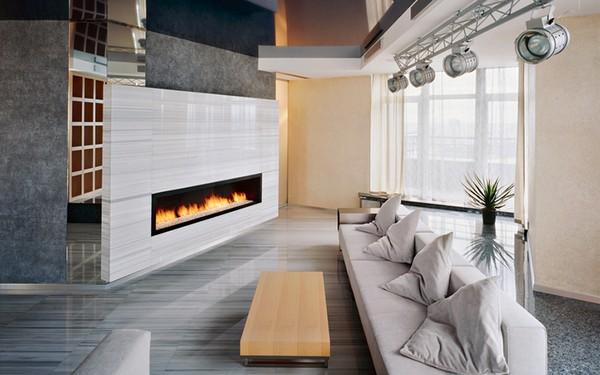 Светильники в гостиную в стиле техно