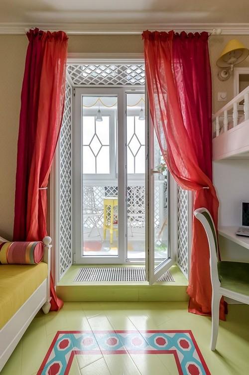 Балконный блок в виде французского окна