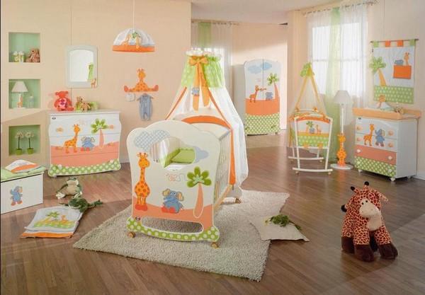 Комната для мальчика новорожденного фото