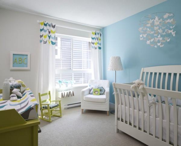 Цвет стен в комнате мальчика фото