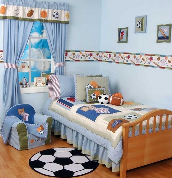 Тематическое оформление комнаты мальчика