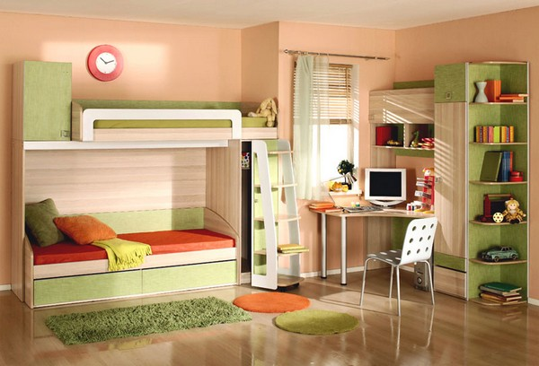 Мебель для детской комнаты для двух мальчиков