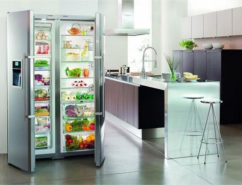 Холодильник и морозильная камера 2 в 1