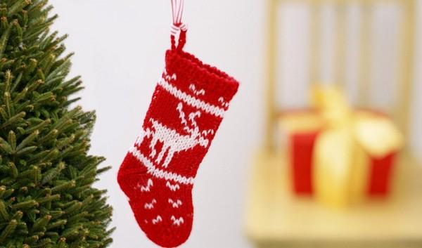 Рождественский носок фото
