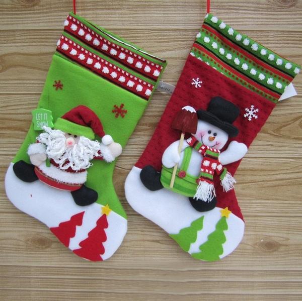 рождественские сапожки своими руками