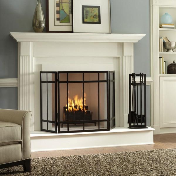 Фальш-камин с имитацией пламени