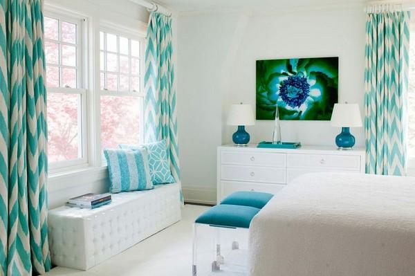 Как выбрать шторы для спальни по цветовой гамме