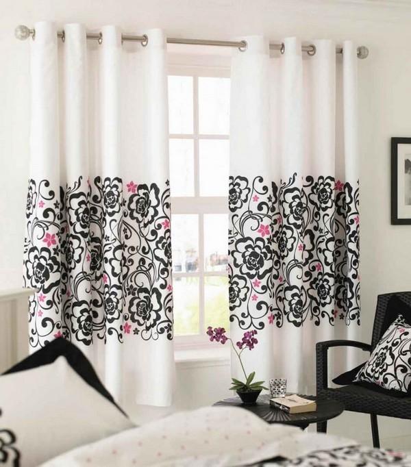 Расцветки штор для спальни