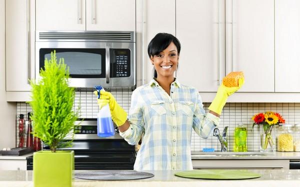 как сделать генеральную уборку на кухне