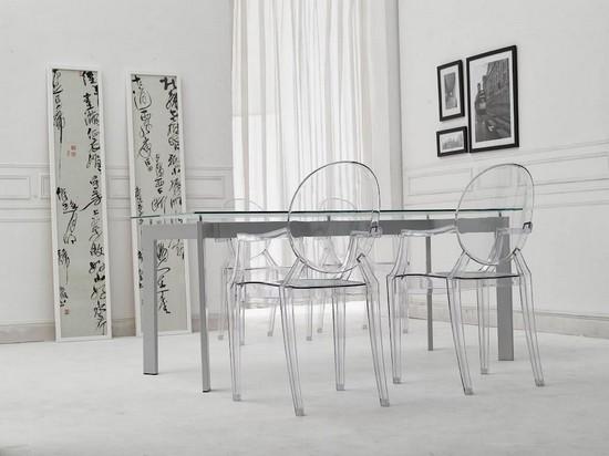 Прозрачная мебель - тренд дизайна 2015