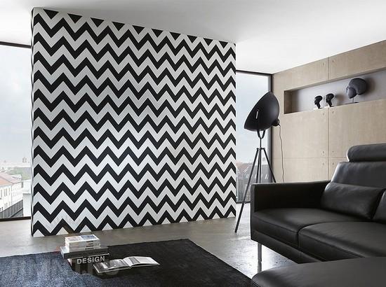 Черно-белый дизайн интерьера 2015 - тенденции