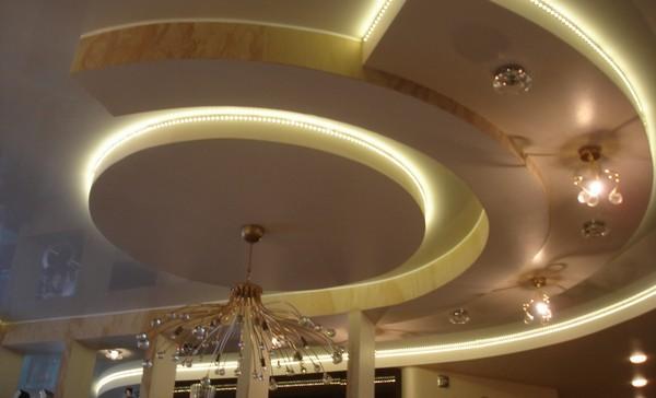 Интерьерные ляпы на потолке фото
