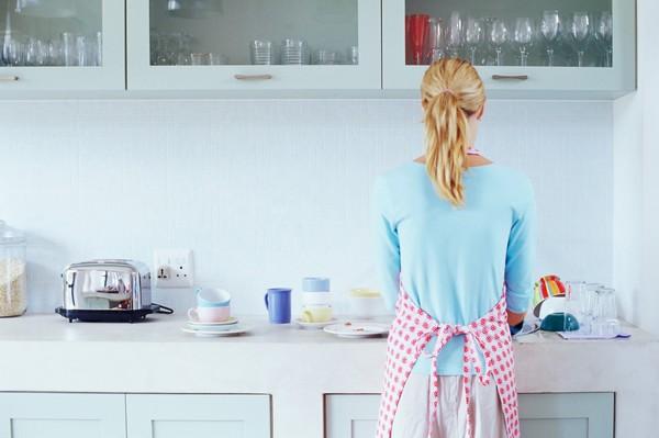 Легкая кухни уборка по флайледи