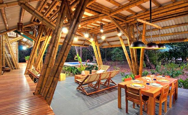 Бамбуковый комплекс на Коста-Рике от Luz de Piedra Arquitectos