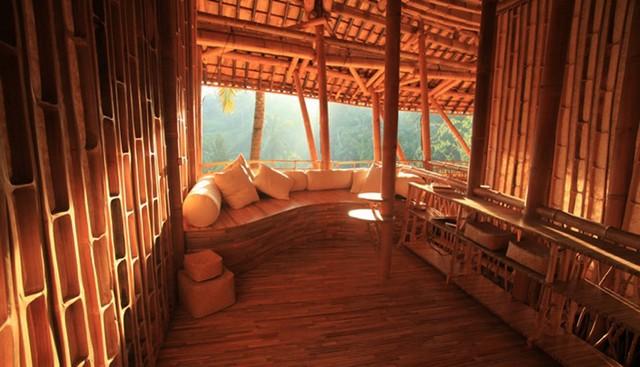Дом на Бали из бамбука, деревня Green Village