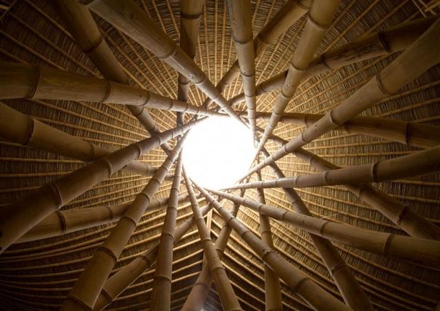Постройки из бамбука