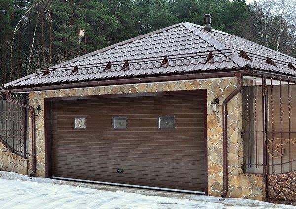 Строительство гаража на участке