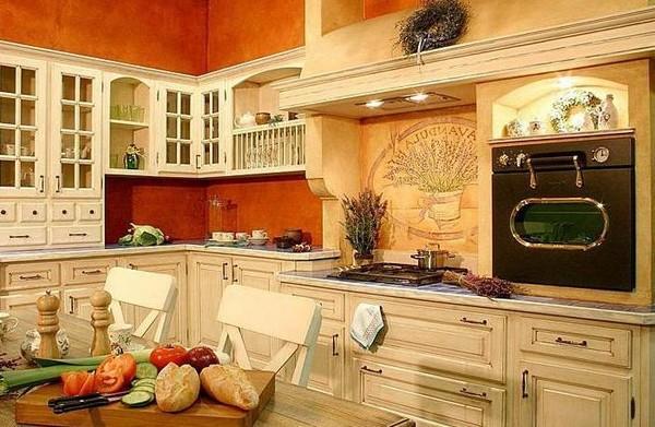 Оформление кухни в стиле кафе бистро фото