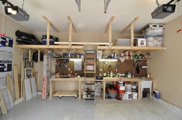 как обустроить гараж внутри своими руками фото