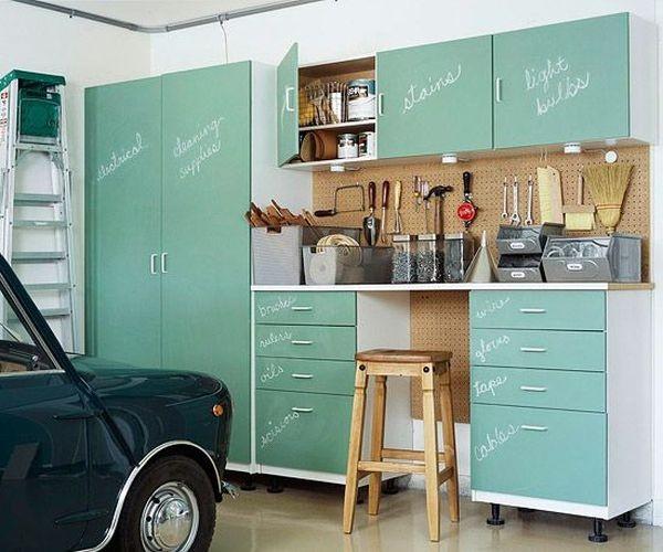 Мебель для хранения инструмента в гараже