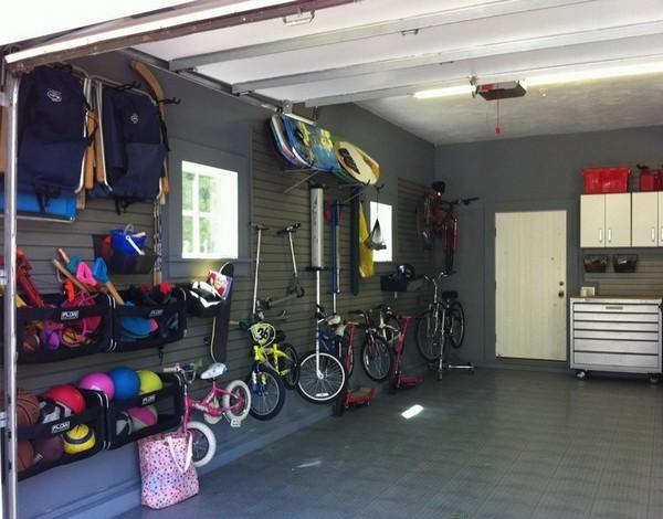 Хранение велосипедов, спортивного и туристического инвентаря в гараже