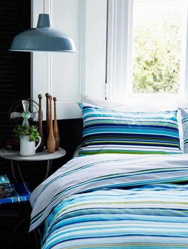 Летнее постельное белье в морском стиле