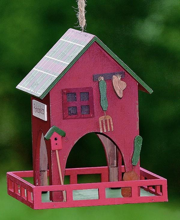Домик для птиц из дерева своими руками