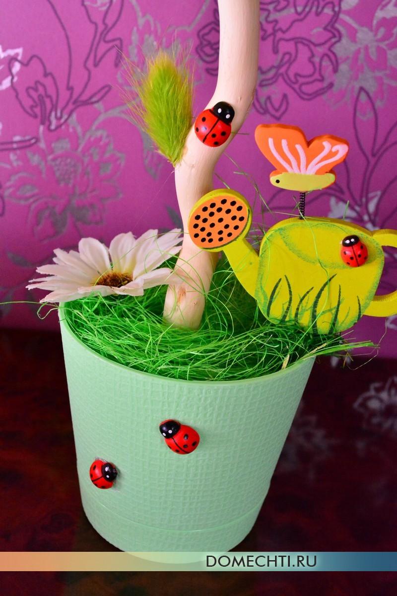 Hiasan bunga hiasan untuk membuat hiasan dalaman