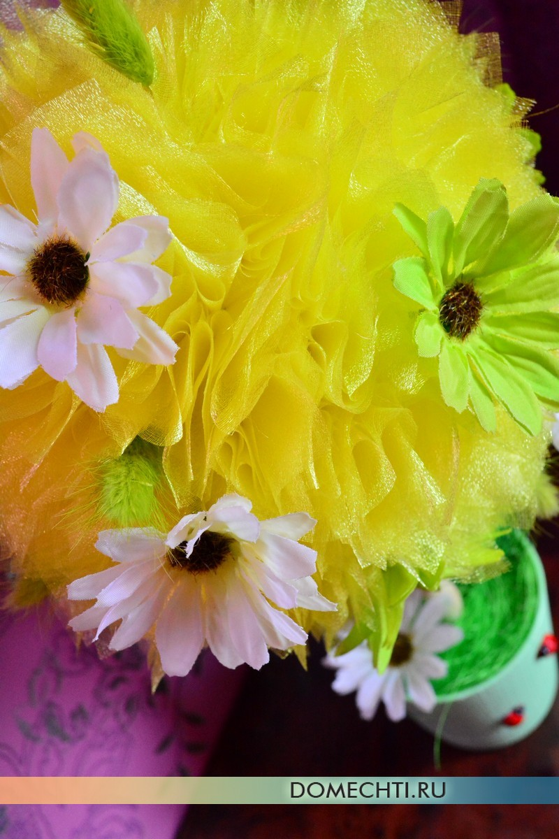Pokok topiary DIY kebahagiaan
