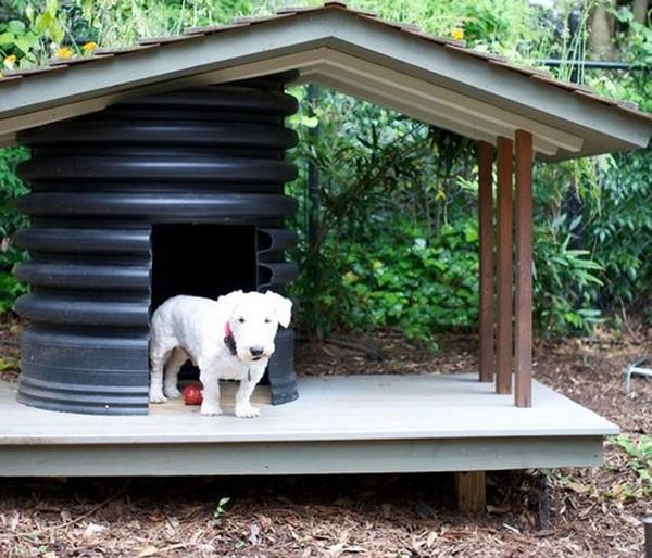 Необычная будка для собак своими руками фото