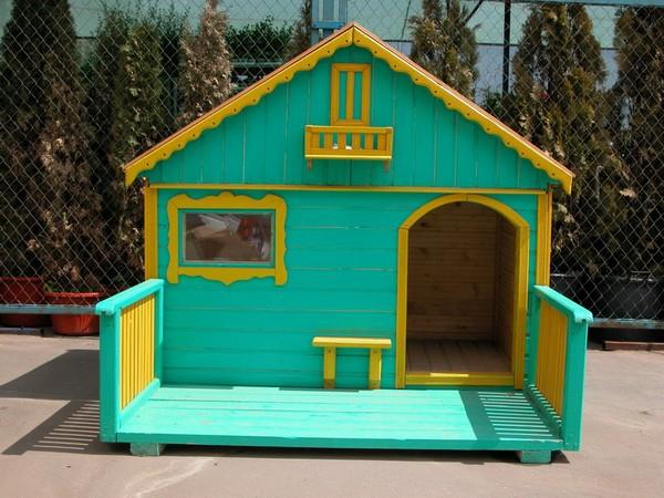 красивая будка для собаки своими руками