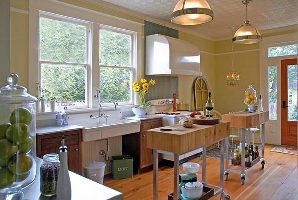 кухонные островки фото
