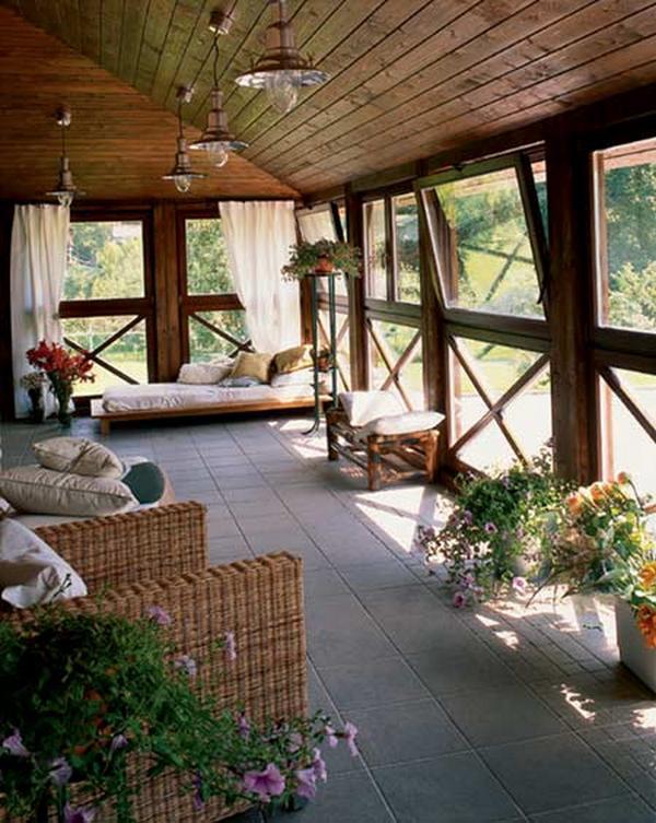 Как обустроить уютную террасу с окнами