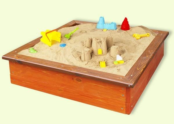 детские песочницы из дерева